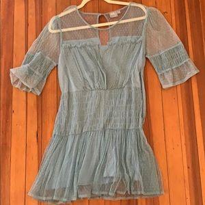 ASOS Petite Mesh Mini Dress